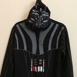 Darth Vader Cosplay Hoodie with Mask Hood